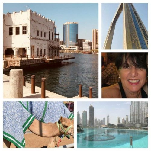 Dubai collage